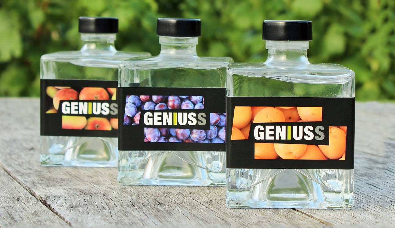 Geniuss Brand Flaschen