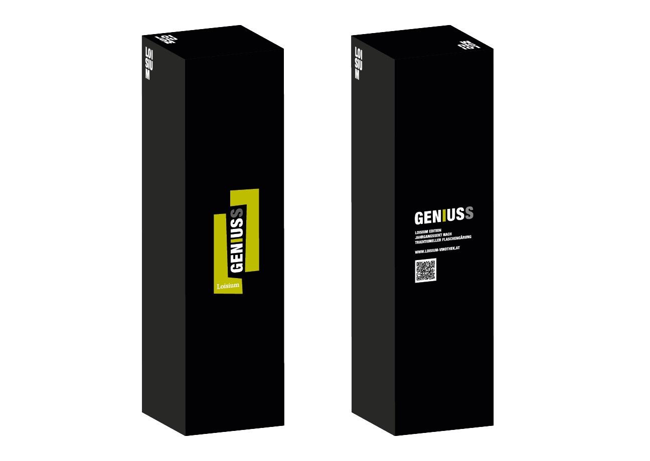 Geniuss Verpackung Flaschenkarton