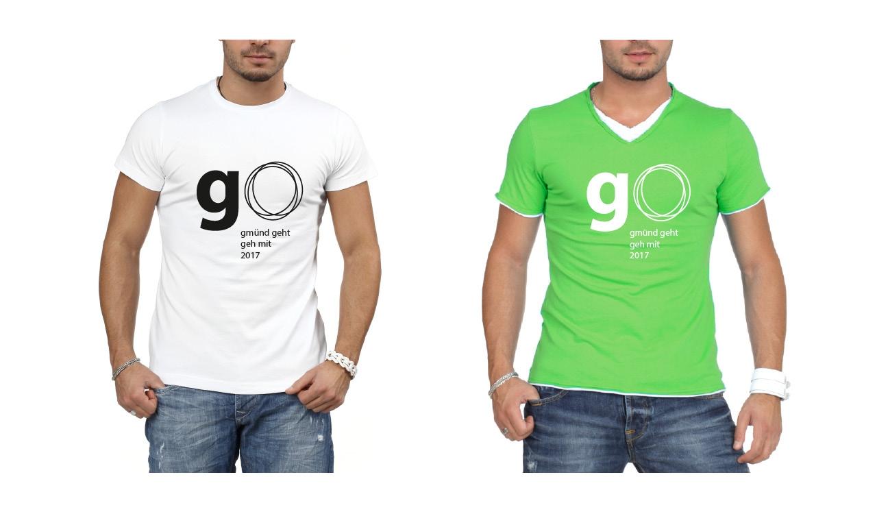 go 17 Leiberl mit Logo