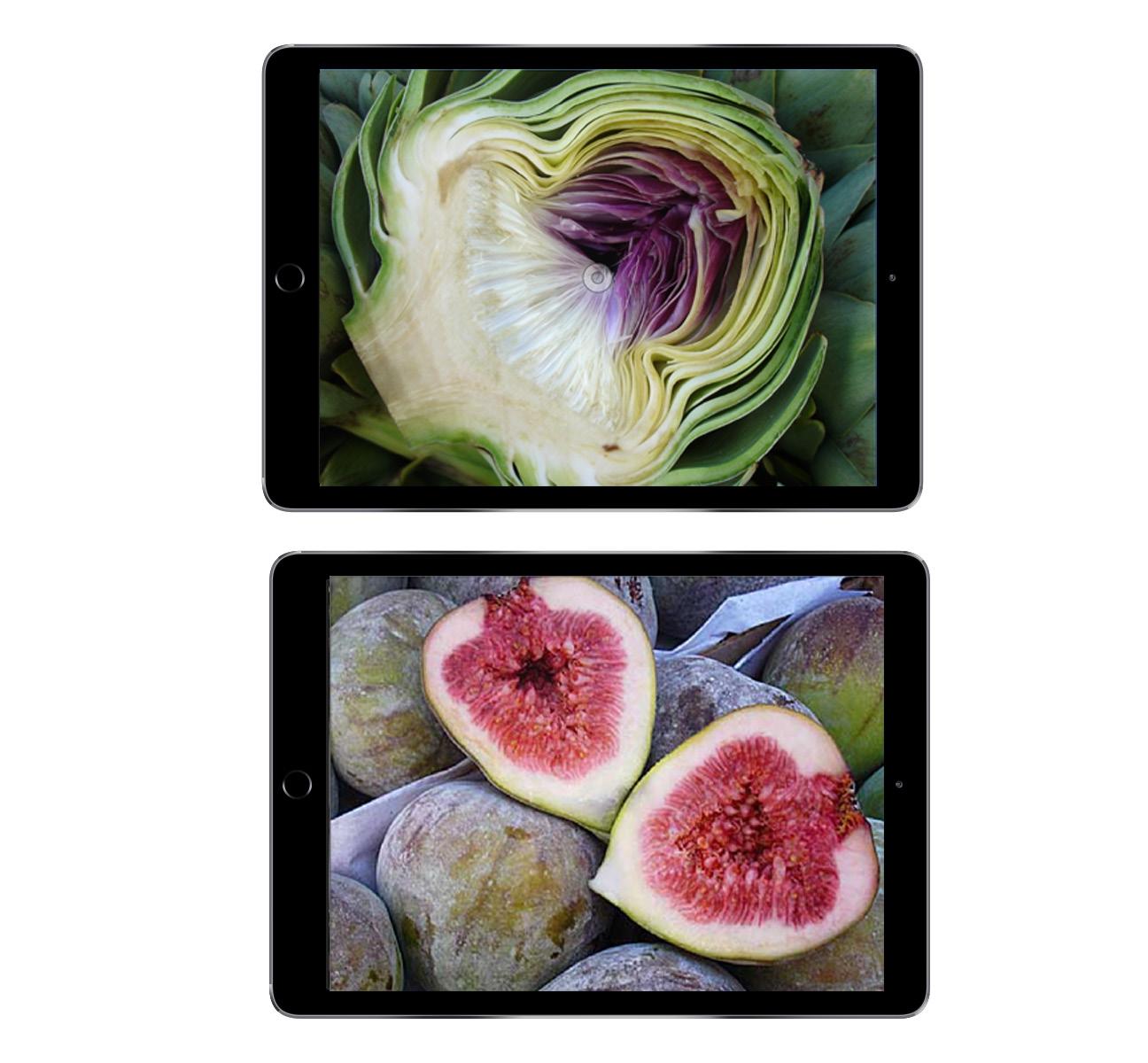 Karners Bilderwelten auf Tablet