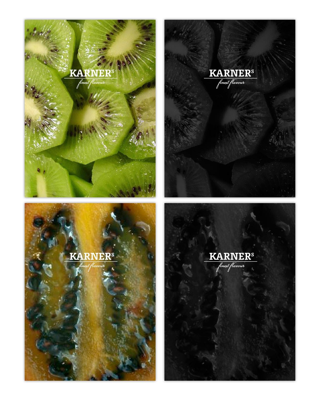 Karners Brand Design Titel-Sujets