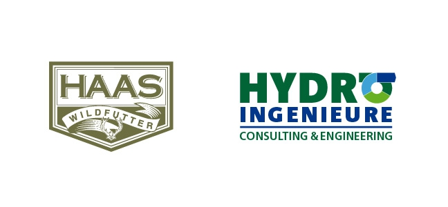 Logo Haas Wildfutter - Hydro Ingenieure