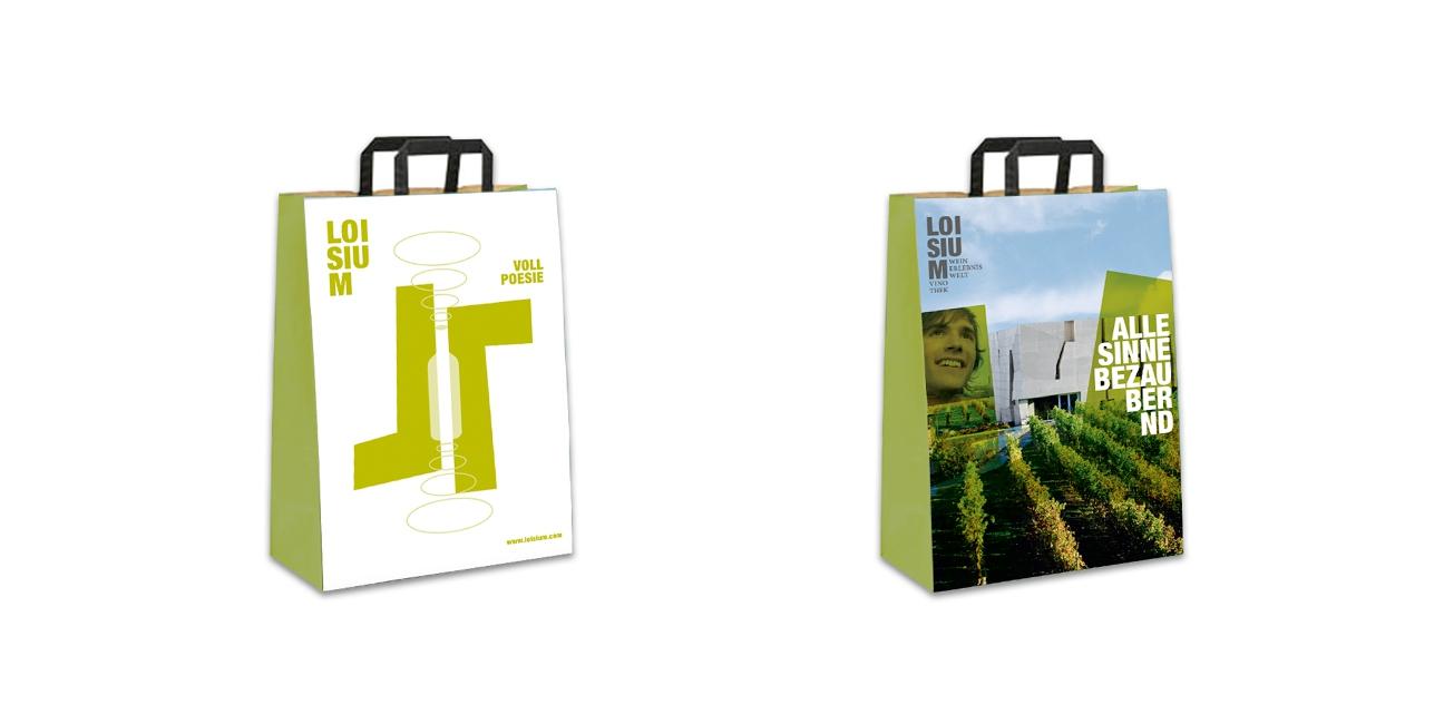 Loisium Brand Design Taschen