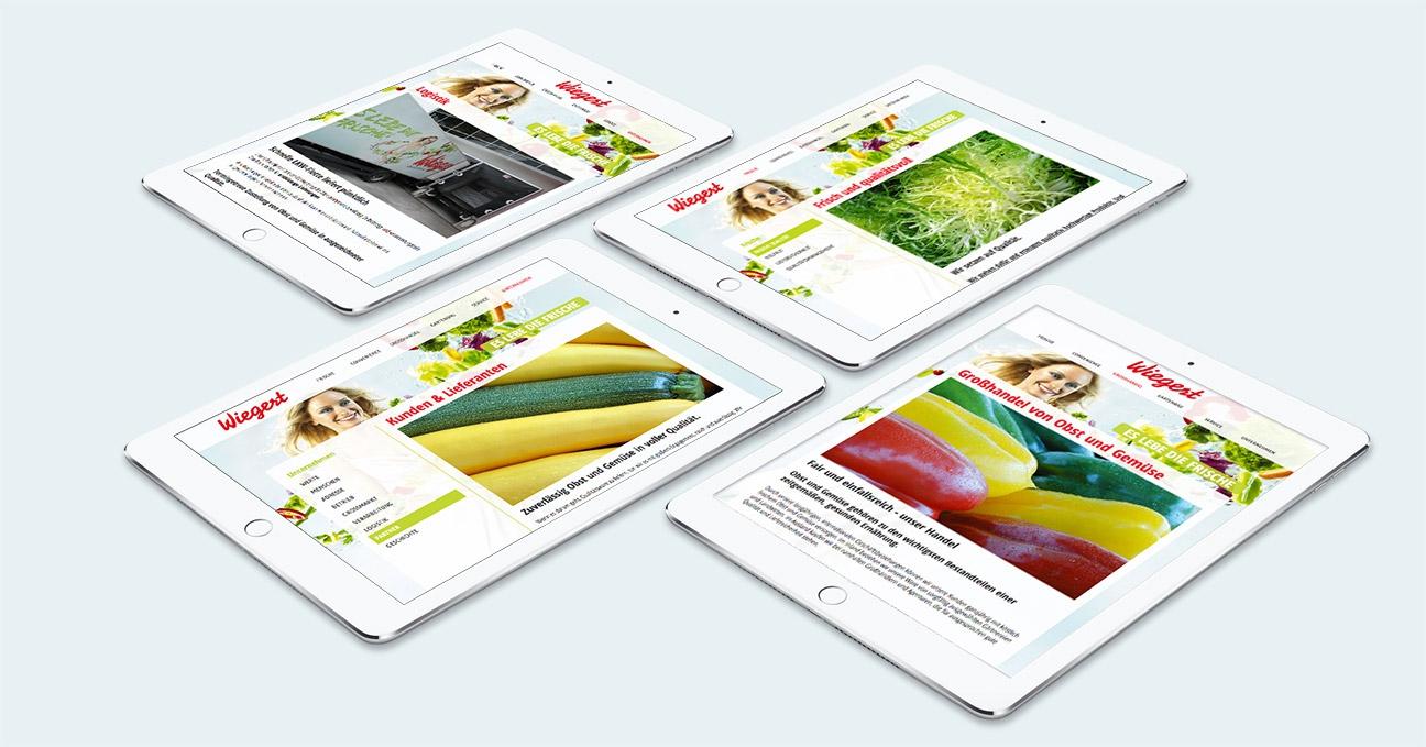 Wiegert Responsive Webdesign Tablet